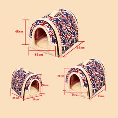 Cat's house Multifuctional goods for pets dog bed  house For Small Medium Dogs Travel Pet Bed Bag Product Tent for animals