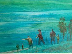 Os  bandeirantes  fase pintura