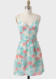 Bonnie Floral Print Sundress. This is more what I was thinking maybe