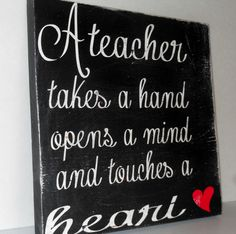 Teacher Gift..Solid Wood Sign.. Christmas by gracierayscrafts, $23.95
