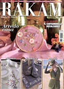 RAKAM Magazine. Italian needlework magazine.