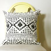 Image of Santa Fe Removable Throw Pillow Cover