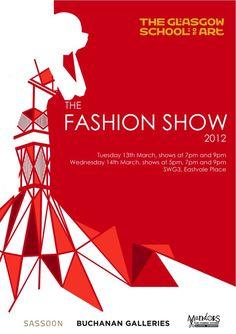 fashion show poster - Google Search