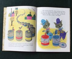 The Color Kittens by Margaret Wise Brown, Illustrated by Alice & Martin Provensen, 1949 (a Little Golden Book)