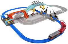 Tomica & Plarail Crossover Set (Model Train) Takara Tomy http://www.amazon.com/dp/B00564YN9Y/ref=cm_sw_r_pi_dp_e4chwb0BVVQ3K #reallywantforchristmas