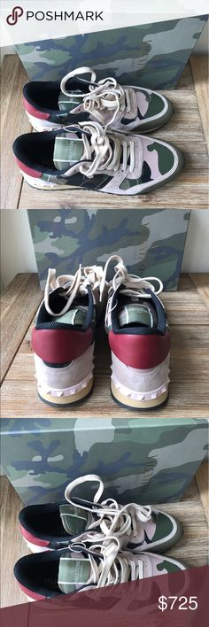 Valentino sneakers Authentic and new. Original box and dust bag included. Valentino Shoes Athletic Shoes