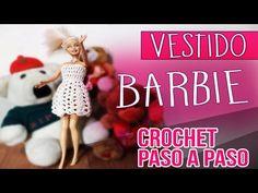Vestido Para Muñeca Barbie - Tejido En Crochet Paso a Paso - YouTube