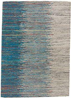Kelim Jaquard Teppich Handgetuftet aus Indien 140 x 195 c…
