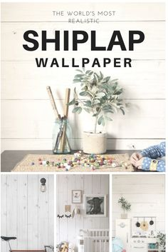 If you prefer to mix your space up a bit, feature walls are a great way to stay on trend but remain flexible with your style. Try opting for a common area to implement Shiplap wallpaper on a feature wall, as it leaves a warm and welcoming impression in a room.