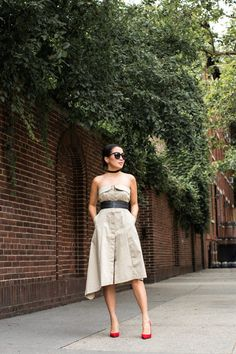 Summer Two Ways :: Utility dress