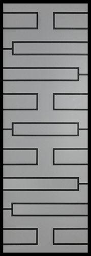 Wrought Iron Door Inserts - Zen 22x64