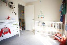 Children's room, Bluebird vintage.