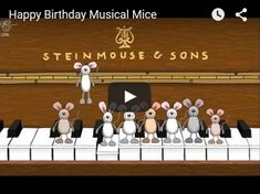 Best way for piano or music teacher to wish an Happy Birthday to their students !