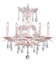 Bellini chandelier for a little girls room. I <3 Bellini.com definitely having a Bellini nursery!