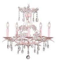 Bellini chandelier for a little girls room. I <3 Bellini.com definitely having a Bellini nursery!