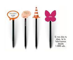 Bolígrafos y lápices con soporte publicitario personalizado. — en www.tusregalosdeempresa.com.