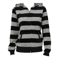 Velour Hoodie ($15) ❤ liked on Polyvore featuring tops, hoodies, jackets, sweaters, hooded sweatshirt, long sleeve hoodies, zip front hooded sweatshirt, black zip front hoodie and black top