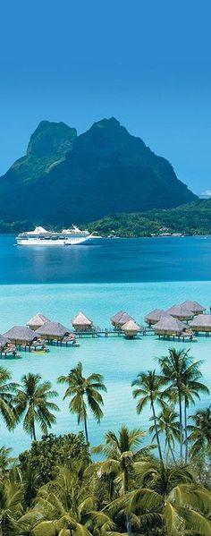 Bora Bora.  Den passenden Koffer für eure Reise findet ihr bei uns: https://www.profibag.de/reisegepaeck/