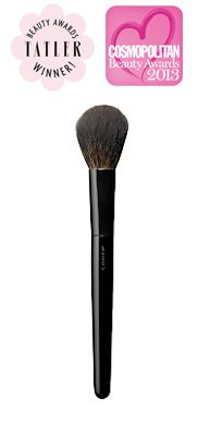 SUQQU CHEEK BRUSH! It is a multi-purpose brush. I use it for my blush and bronzer. It picks up enough product and distributes so evenly!