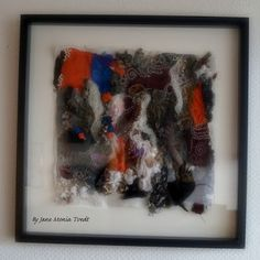 Jane Monica Tvedt - Empire of heart: Art is when you hear a knocking from your soul - and you answer. - Tekstilkunst/Textil ART - Gjenbruk/Recycleing