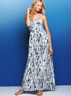 Maxi Lightly Padded Bra Top Dress