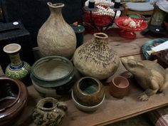 Melbourne Op- Shops: 70s pottery at Christ Church, 10 Glenlyon Rd, Brunswick