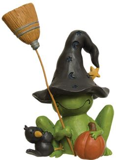 Frog Witch at Kruenpeeper Creek Country Gifts for $6.99.
