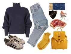 """""""Head Girl"""" by peachy-queen ❤ liked on Polyvore featuring Balenciaga, Vera Bradley, Polder, adidas and Jayson Home"""