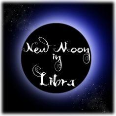 Moonlight Muse: New Moon in Libra...
