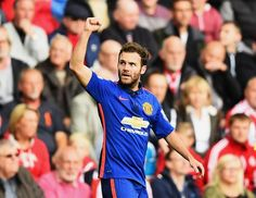 juanmata8 hit his seventh goal in eight games for #mufc on Sunday.