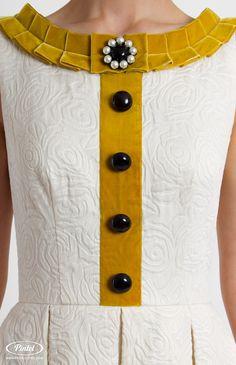 Pintel Store — AKKUDINE — дизайнерское платье для девушек с отделкой бархатной лентой