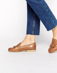Image 1 ofASOS MASCOT Leather Loafers