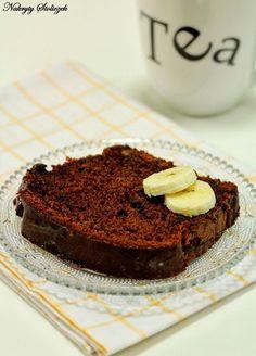 Nakryty Stoliczek: Ciasto bananowo-czekoladowe