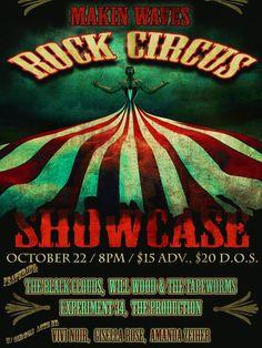 Makin Waves turns Roxy & Dukes showcase into Rock Circus