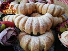 Elmalı  Pasta Tarifi Bagel, Pumpkin, Bread, Vegetables, Food, Pumpkins, Brot, Essen, Vegetable Recipes
