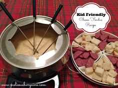 Early in my marriage, my husband and I received two fondue sets as a Christmas gift. It has not become a tradition for us to have cheese and chocolate fondu