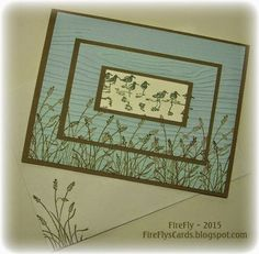 FireFly's Cards: Get Well card using Stampin' Up!