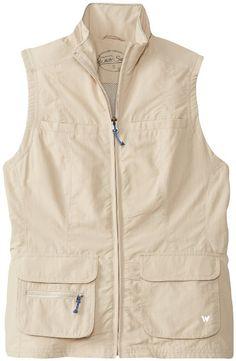 Amazon.com: White Sierra Women's Traveler Vest: Sports & Outdoors
