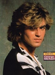 George Michael...the hair, the hair, the hair....among other things