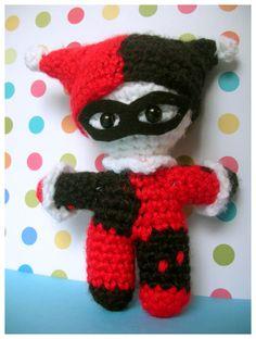 Harley Quinn and Joker Amigurumi - CROCHET