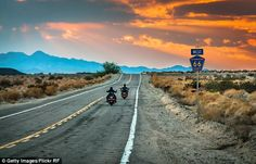 Route 66 has long been iconic for riders hoping to see the diverse sights of America...
