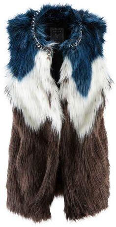 GUESS Fake-Fur Weste (199 €)