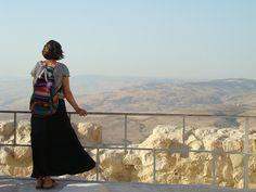 Mt. Nebo, overlooking the Holy Land.