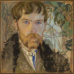 Stanisław Wyspiański, Autoportret.jpg