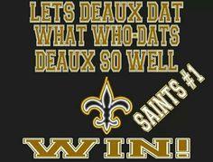 Saints Win! WhoDat!