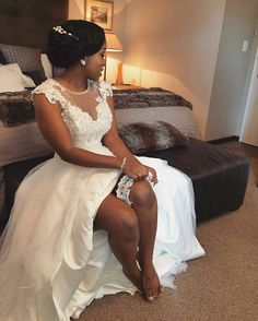 Congratulations Noxolo on your nuptials. What a gorgeous bride you made!!!! @Regrann from @glamazon_mestizo - Noxolo bringing sexy back. Congratulations beautiful  We hope you had an amazing day. - #regrann  #zarthwoman #zarhbride