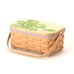 Longaberger 2015 Mother's Day Basket with Lid, Protector **NEW** #Longaberger
