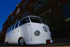 Low... White VW Bus
