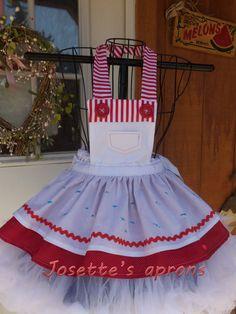 Lalaloopsy Spot Splatters inspried childs apron