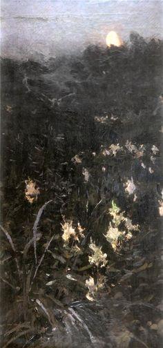 Головин А.Я. Щемит. Ущерб луны. 1894 г.